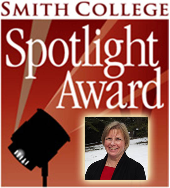 Spotlight Award graphic with photo of Pat Gilbert