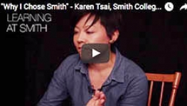 MSW student Karen Tsai talking about why she chose Smith